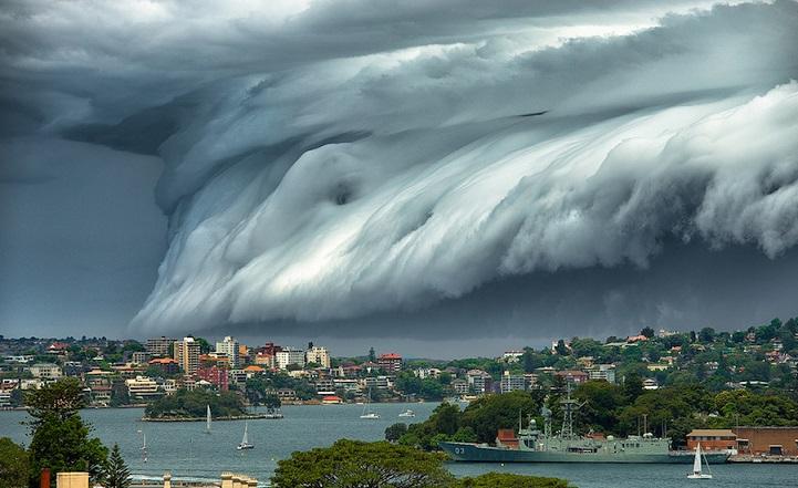 fotos tsunami australia