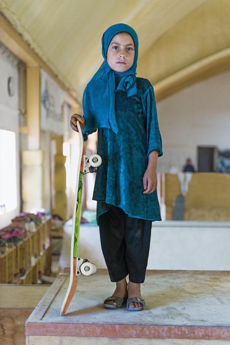 retratos niñas afganas