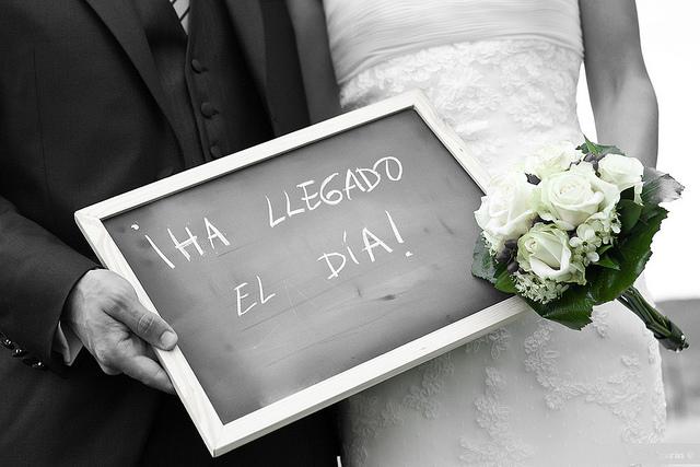 Fotos boda blanco y negro