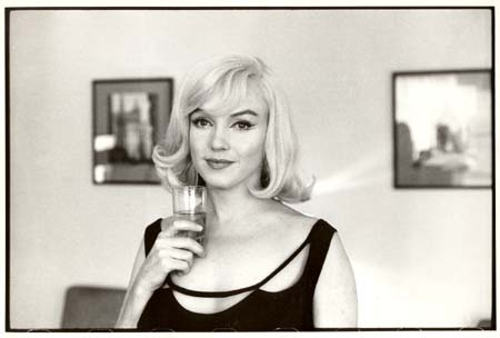 Retrato de Cartier Bresson a Marylin Monroe