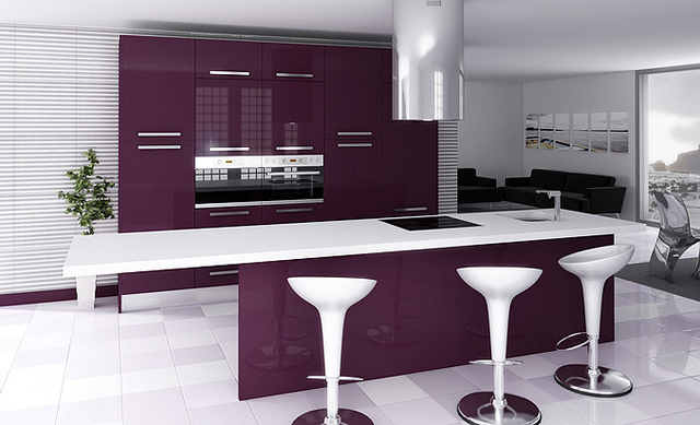 Foto cocina interior