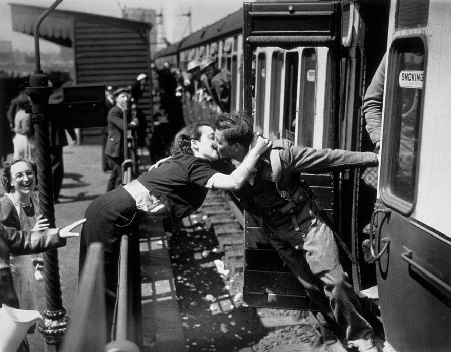 fotos antiguas guerra y amor