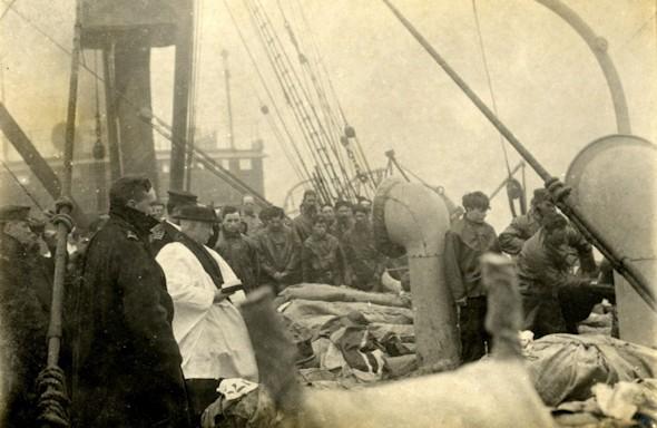 subasta foto titanic