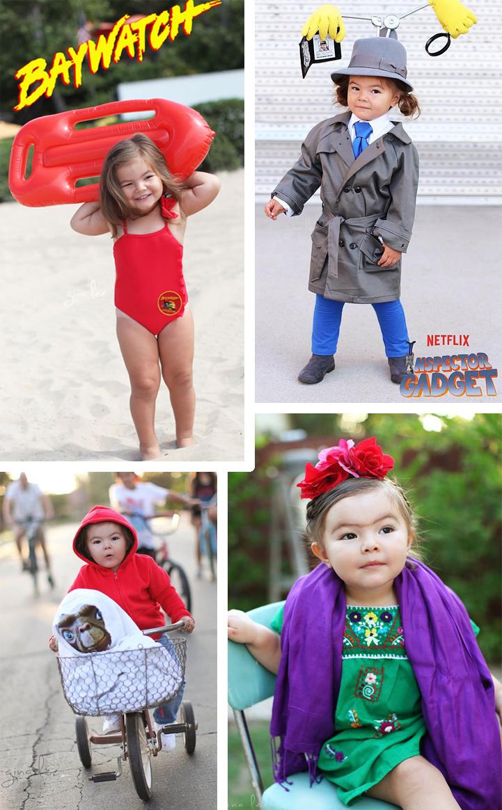 fotos niñas disfrazada Halloween