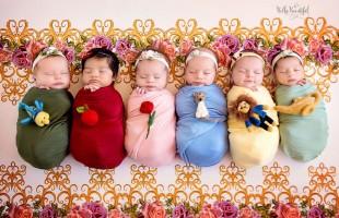 Fotos de bebés que son auténticas princesas Disney