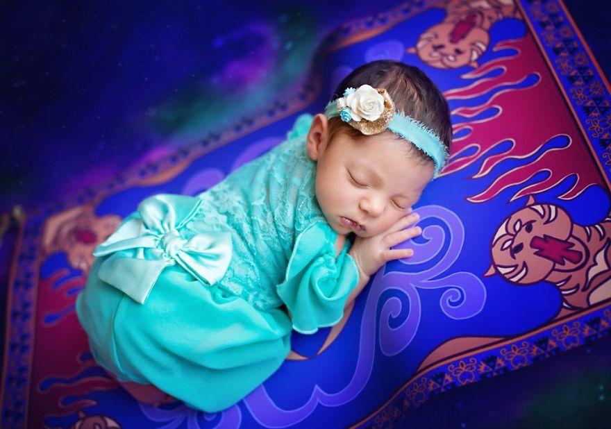 album fotos bebe princesas jasmine