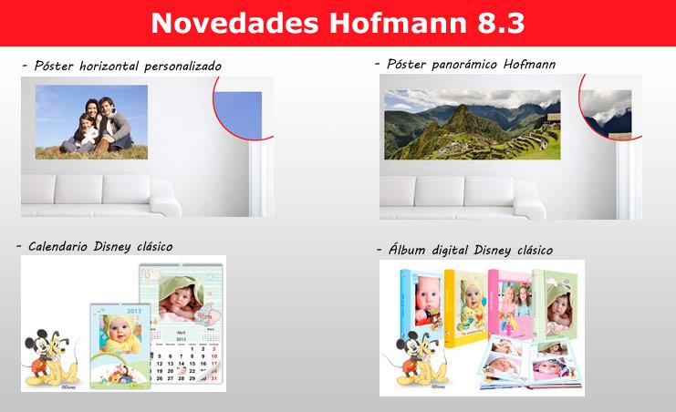 Novedades Hofmann 8.3