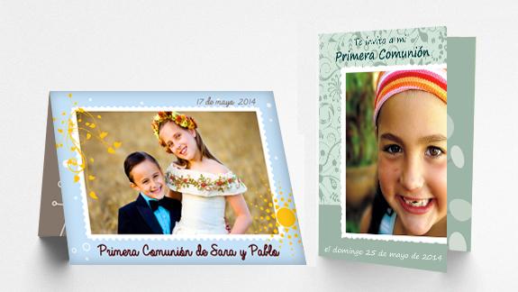 Programa para diseñar invitaciones para comuniones