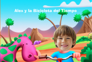 Cuento infantil La bicicleta del tiempo.