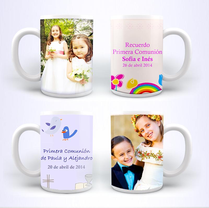 tazas hofmann para recuerdo de primera comunión